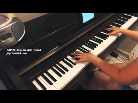 SNSD - Into The New World (Ballad Version) - Piano cover and Sheets