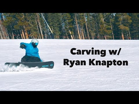 IS THIS the BEST SNOWBOARDER in the GAME?!? Carving w/ Ryan Knapton at Breckenridge!