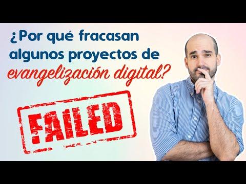 ¿Por qué fracasan algunos proyectos de evangelización digital?   Lanzamiento Digital