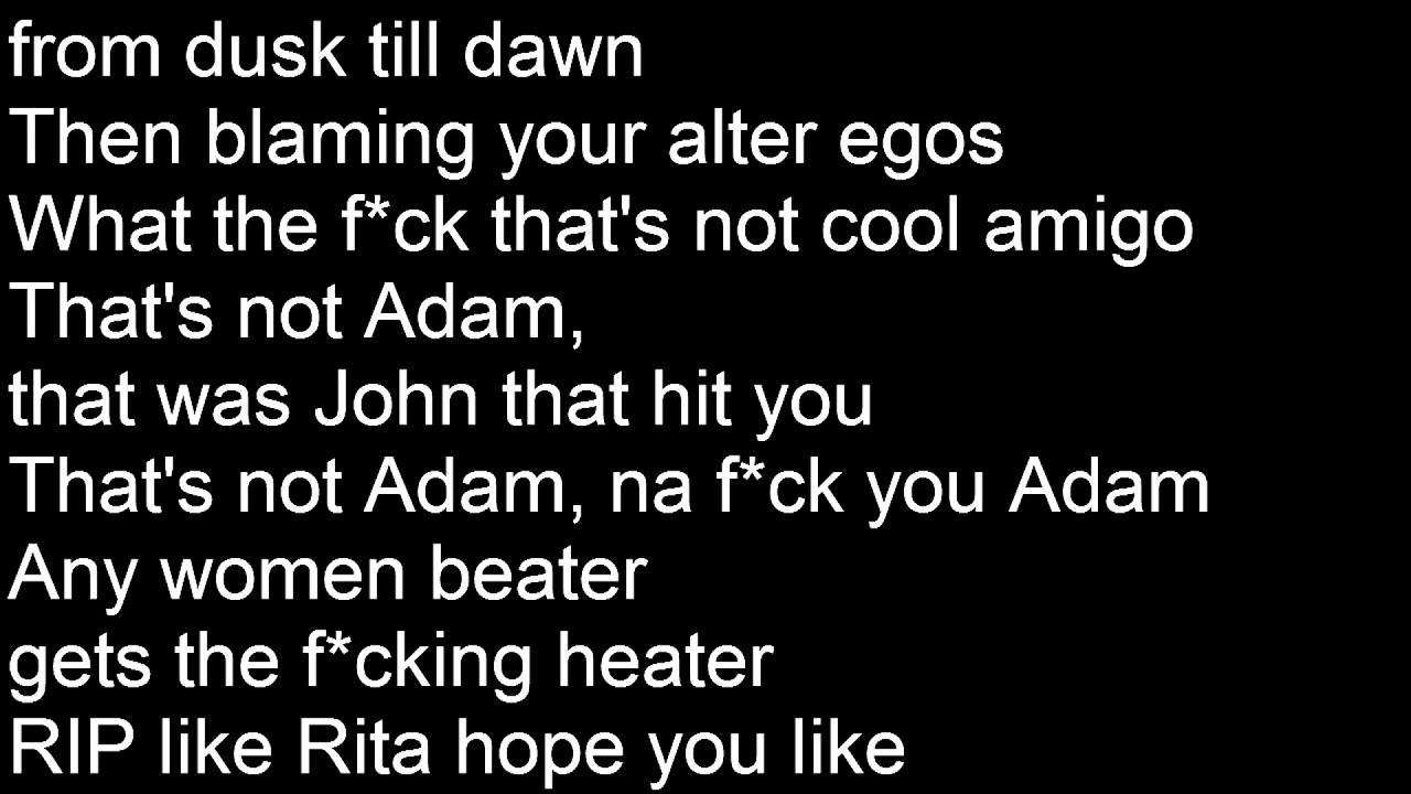 Ksi - Adam U0026 39 S Apple Lyrics Official Lyrics  Chords