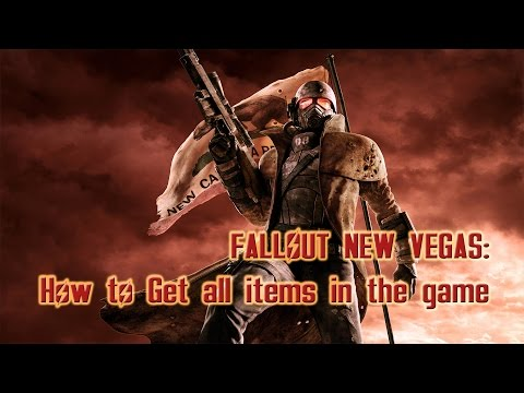 How To Get All Weapons In Fallout New Vegas (Including Armor, Unlimited Caps)