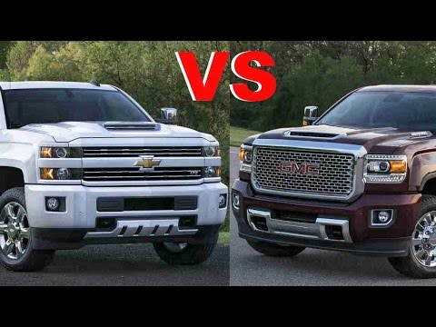 Gmc Vs Chevy >> 2017 Gmc Sierra Vs 2017 Chevrolet Silverado Which One Is