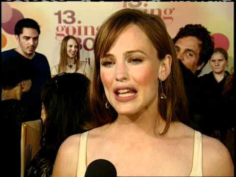 13 Going On 30 Premiere Interview Jennifer Garner