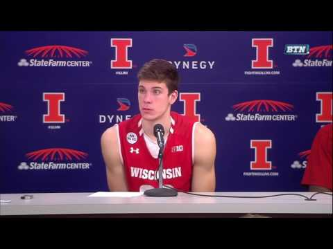 Wisconsin Post-Game Press Conference - Illinois
