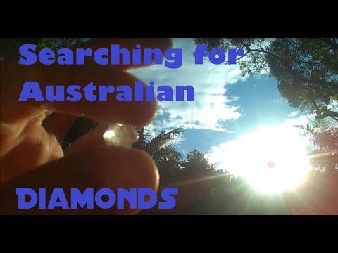 Searching For Australian Diamonds At Copeton Dam