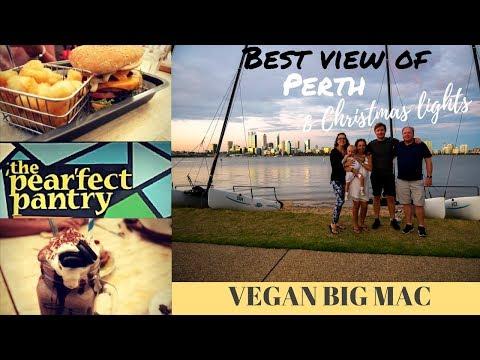 BEST VIEW OF PERTH // CHRISTMAS LIGHTS // VEGAN BIG MAC