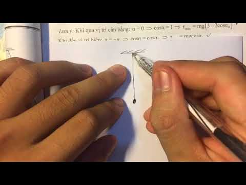 Live stream 14 | Các bài toán cơ bản về con lắc đơn | Phần I | Vật lý online | Trường Học Online