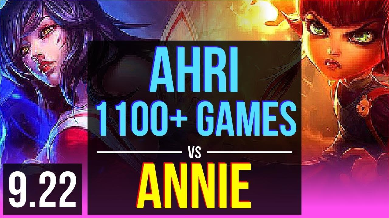 Ahri vs annie