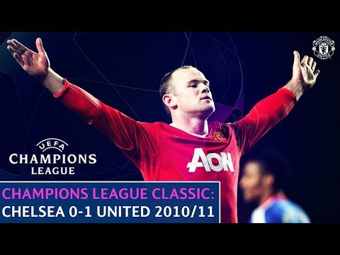 UEFA Champions League Classic | Chelsea 0-1 Manchester United | Quarter-Final 1st Leg | 2010/11