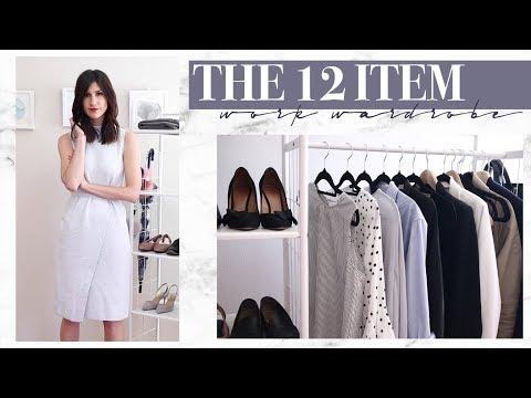 The 12 Item Work Wardrobe | Mademoiselle