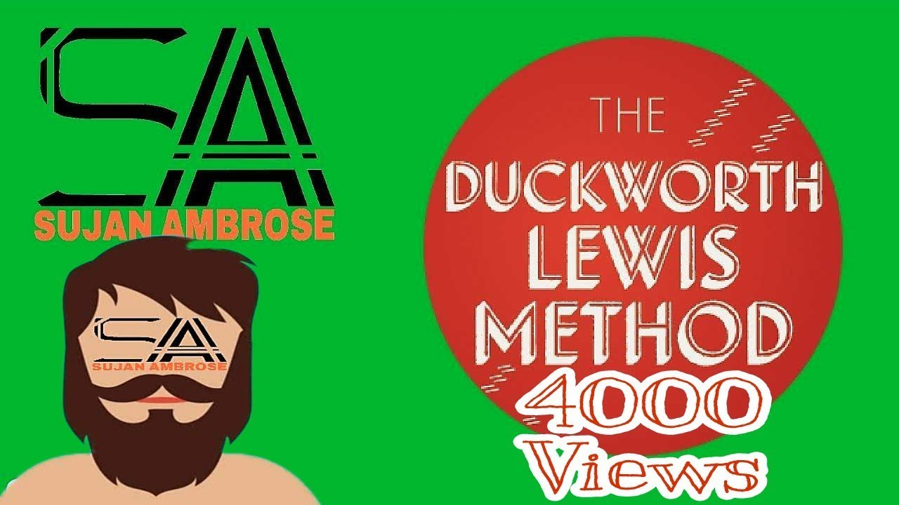 How to calculate score using duckworth–lewis (d/l) method in.