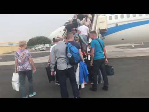 Flight ENT5014: Sal Island - Katowice [via Barcelona]. 2017-12-23