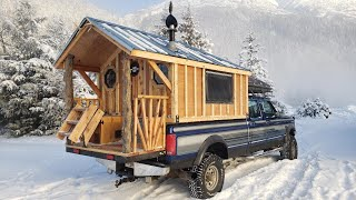 Alaska Overland Truck Cabin   Official FULL TOUR : Truck House Life   Episode 4
