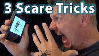 3 AWESOME IDEAS (Spider Pranks!)