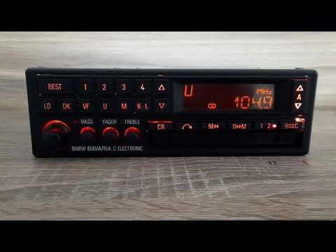 BMW Bavaria C Becker BE0729 Radio/CC player for E24 E28 E30 E31 E32