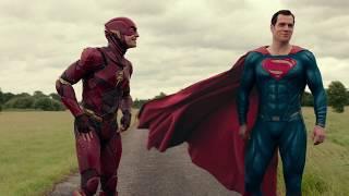 Гонка Супермена и Флэша. Сцена после титров. Лига справедливости