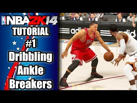 NBA 2K14 Ultimate Dribbling Tutorial PS4 Xbox One: Ankle Breakers, Park ISO Sizeup Crossovers & More