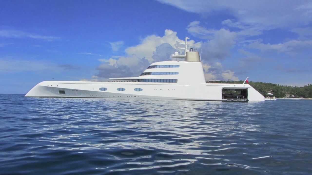 andrey melnichenkos  300 million super mega yacht  u0026quot a u0026quot  at