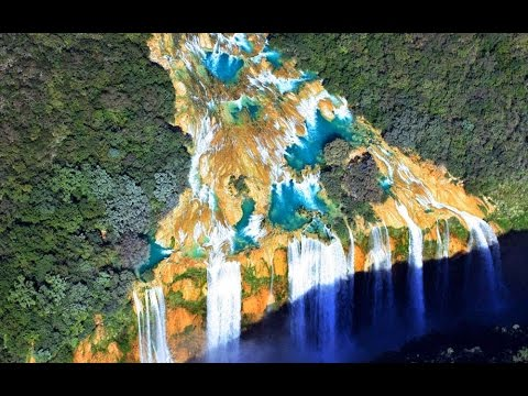 Natural wonders - Cascades de Tamul (Mexico)