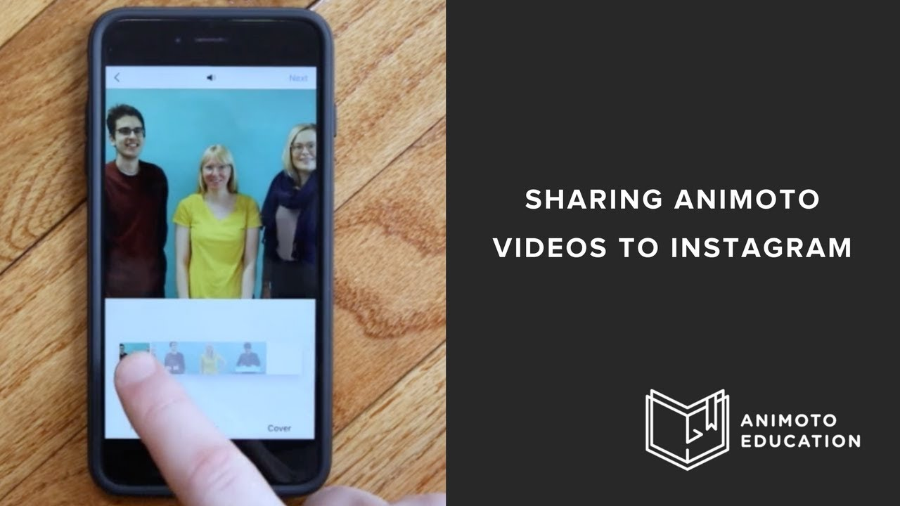 How To Share Your Animoto Marketing Video To Instagram