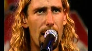 NickelBack - Too Bad (Bizarre 2002)Live