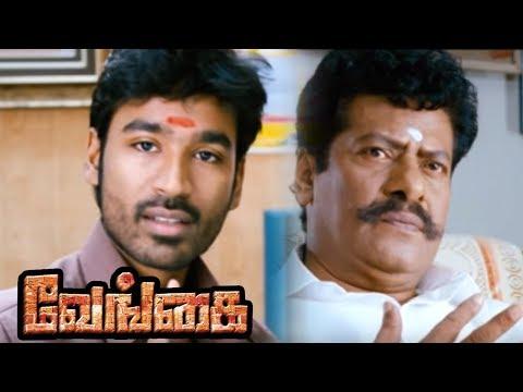Venghai | Vengai Tamil Full Movie Scenes | Dhanush Warns Livingston | Dhanush Helps Tamanna |Tamanna