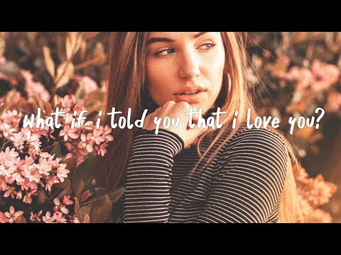 Ali Gatie - What If I Told You That I Love You (Lyric Video)