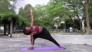 Standing Flow (Yoga Practice) with Alicia in the Park