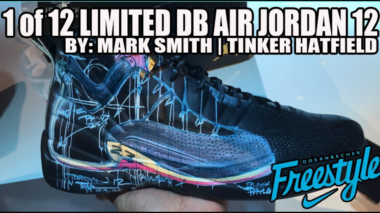 c2ad728e63ae In Hand  Limited 1 of 12 Doernbecher Air Jordan 12 XII By Mark Smith ...