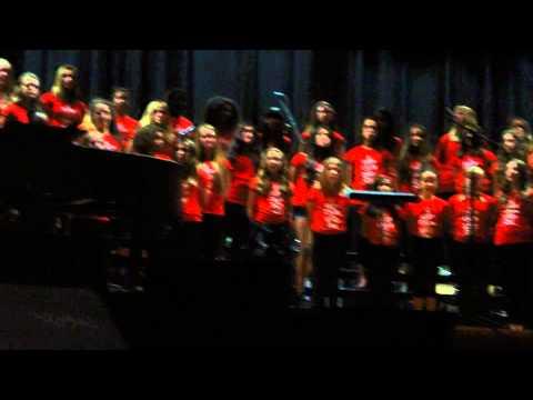 Martin Luther King Jr Middle School Chorus(Berkeley, California)- June Concert 2013/6/5