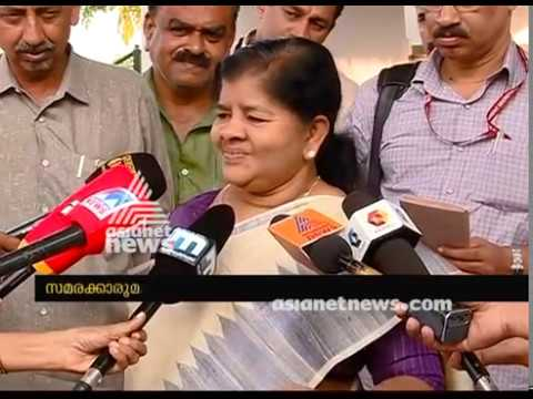 Alappad Mining ; Ready to have discussion with protesters says Mercykutty Amma