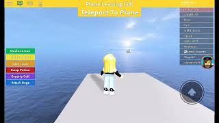 Meu primeiro video- roblox (survive the plane )
