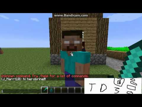 More Mobs Mob Herobrine Spawn Command Youtube
