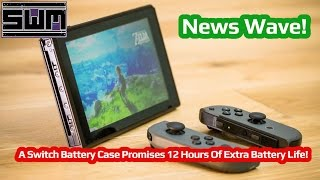News Wave! - A Nintendo Switch Battery Case Promises 12 Hours Of Extra Battery Life!