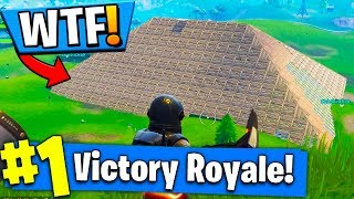 PROTECTING DUSTY DEPOT FROM A METEOR?! Fortnite: Battle Royale
