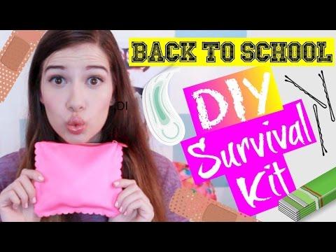 BACK-TO-SCHOOL DIY SURVIVAL KIT! + GIVEAWAY!