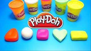 Play Doh Shape Toys - Duck, Pikachu and Pokemon