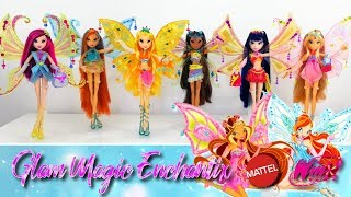 [ENG SUB] Winx Club Review - Glam Magic (Enchantix) Mattel