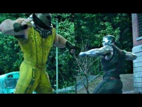 Deadpool 2 - Colossus Vs Juggernaut (FULL FIGHT SCENE)