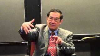 杜维明 文化中国的认同问题 Harvard CSSA Du Weiming Tu Wei-ming May 8, 2013, Part 1 of 2