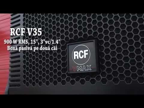 RCF V35 / RCF QPS9600 / RCF LivePad 12cx