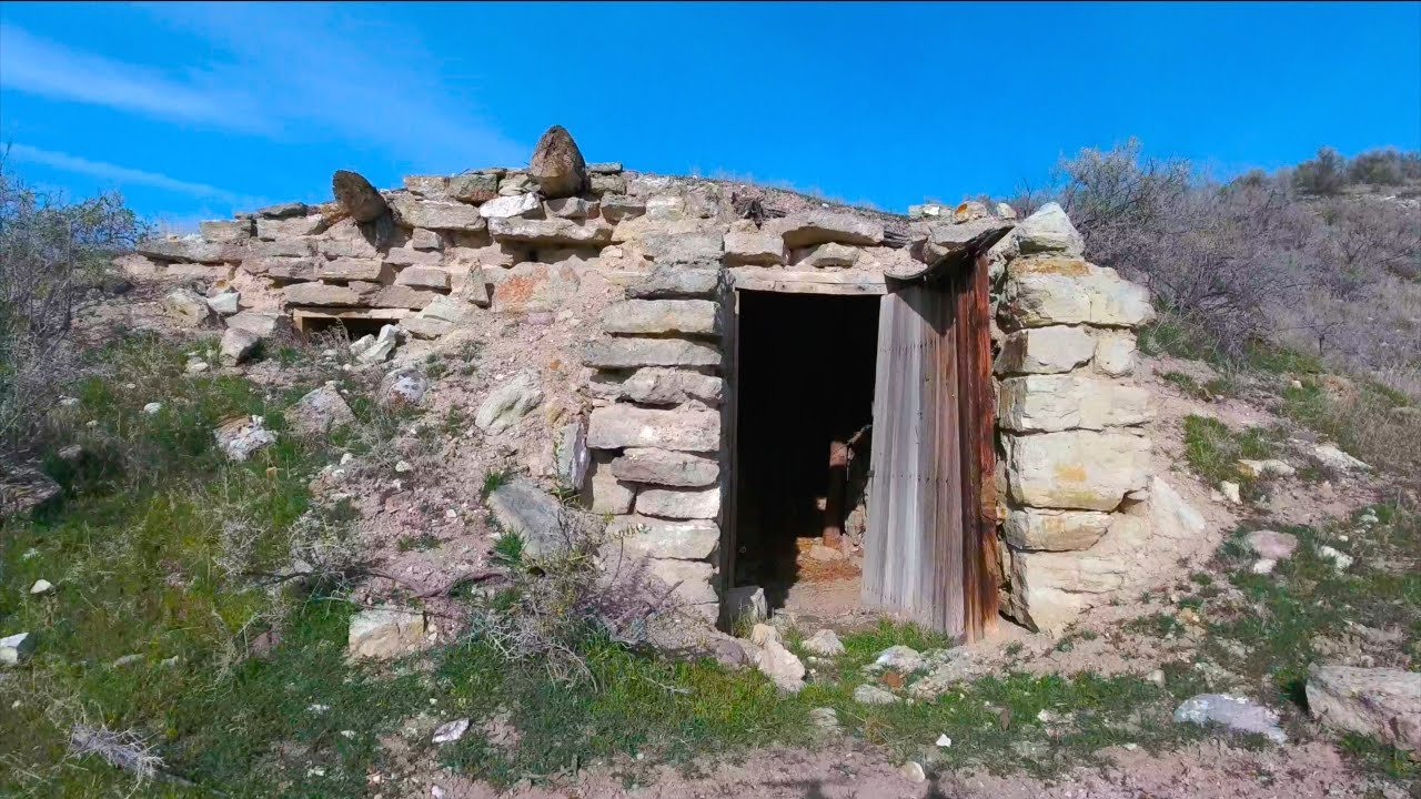 Houses Built Underground Drone Finds Hidden Underground House From The 1800s Off The Grid