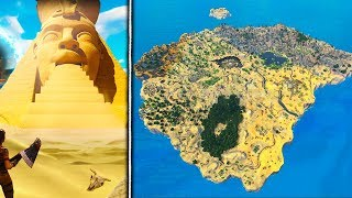 SEASON 5 OFFICIAL MAP *EARLY LEAK* in Fortnite! - Fortnite Battle Royale SEASON 5 MAP LOCATIONS!