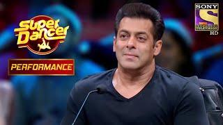 Salman ने की Arushi और Nishant के Performance की खूब तारीफ | Super Dancer Chapter 2
