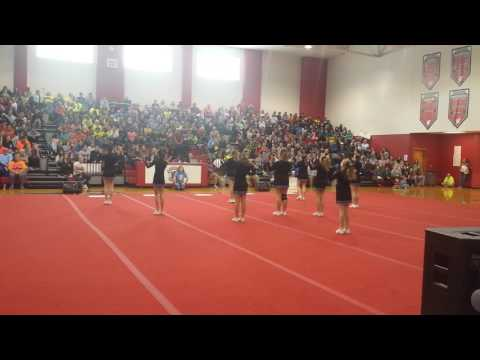 Uwharrie Middle School Cheer Competition