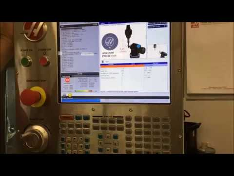 Haas NexGen Control - Complete Probe Calibration in a Single Step