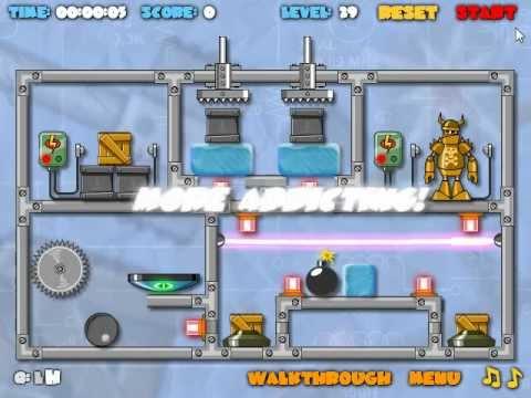 """""""CRASH THE ROBOT""""\EXPLOSIVE EDITION Game Trailer"""