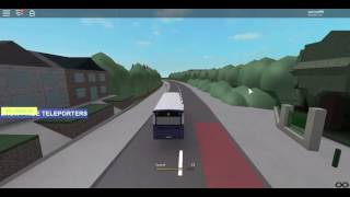 Buses UK LHD | Route 53 (First) [ROBLOX]