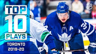 Top 10 Maple Leafs Plays of 2019-20 ... Thus Far | NHL
