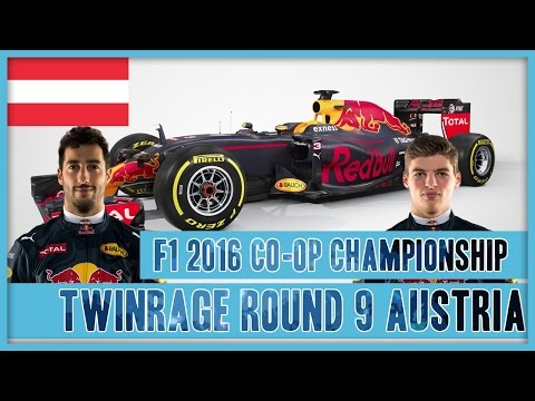 TwinRaGe Youtube Co-op Championship F1 2016 - Round 9 Austria